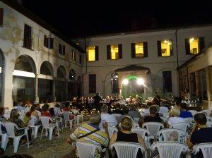 En el concierto de Oleggio